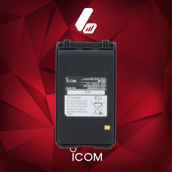 iCom BP-265 Battery-01